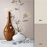 NEWROOM Blumentapete Tapete Braun Blätter Zweige Floral Vliestapete Beige Vlies moderne Design Optik Tapete Modern inkl. Tapezier Ratgeber