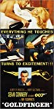 Poster 40 x 80 cm: James Bond 007 - Goldfinger von Everett Collection - Hochwertiger Kunstdruck, Neues Kunstposter