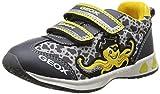 Geox B TEPPEI BOY C - zapatillas de running de material sintético bebé, color gris, talla 24