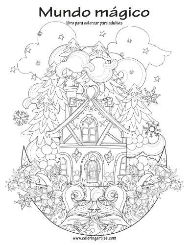 Mundo mágico libro para colorear para adultos 1: Volume 1