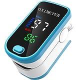 Entweg Pulsossimetro SPO2 Misurazione della frequenza del Polso Spegnimento Automatico Entro 5 Secondi