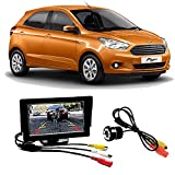 #6: Fabtec Premium Quality 5.0 Inch Full Hd Dashboard Screen With LED Night Vision Waterproof Car Rear View Reverse Parking Camera For Ford Figo New