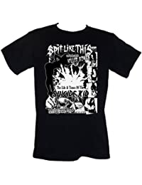 SPiT LiKE THiS Suicide Kid T-SHIRT Size S-4XL (goth uk glam punk metal rock)