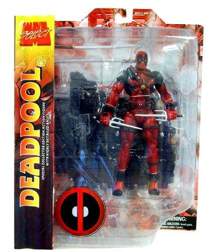 Marvel Select Deadpool Action Figure Mit Maske