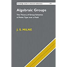 Algebraic Groups: The Theory of Group Schemes of Finite Type over a Field (Cambridge Studies in Advanced Mathematics, Band 170)