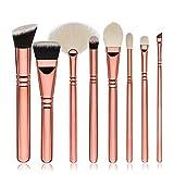 NINGSANJIN 8pcs maquillage cosmétiques ombre pinceau blush yeux Pinceaux kit