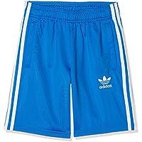 adidas J Bb, Pantaloncini Bambino, Blu (Blu/Bianco), 11-12 anni