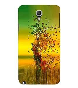 PrintVisa Designer Back Case Cover for Samsung Galaxy Note 3 Neo :: Samsung Galaxy Note 3 Neo Duos :: Samsung Galaxy Note 3 Neo 3G N750 :: Samsung Galaxy Note 3 Neo Lte+ N7505 :: Samsung Galaxy Note 3 Neo (Young Modern Girl Pic)