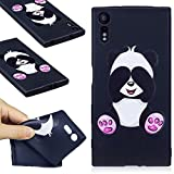 Xperia XZ Coque, Sony Xperia XZ Coque, Xperia XZ Housse, Sony Xperia XZ Housse, Anlike Sony Xperia XZ (5,2 Zoll) Téléphone Coque / Étui Flexible protection en TPU Silicone Shell Etui Housse de Protection Coque Etui Silicone case cover - Cartoon panda