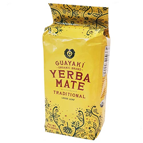 Guayaki Organic Fair Trade Yerba Mate Traditional Blend