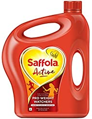 Saffola  Active Edible Oil, Jar, 5L