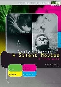 Andy Warhol - 4 silent movies - 4 film muti
