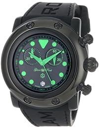 Glam Rock GR61116 - Reloj para mujeres color negro