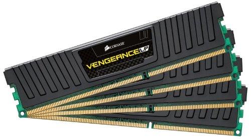 Corsair CML16GX3M4A1600C9 Vengeance 16GB (4x4GB) DDR3 1600 MHz (PC3 12800) Desktop Memory 1.5V