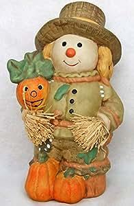 Herbstfigur Keramik