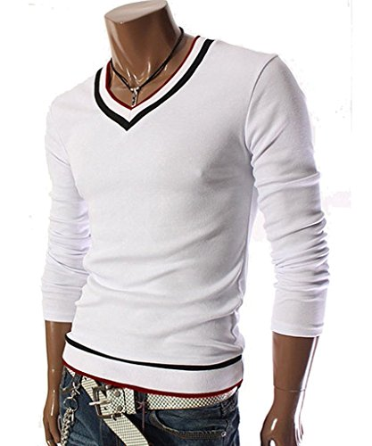 goewa-mens-v-neck-sweater-pull-over-with-tipping