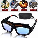 Best Welding Helmets - MAYLINE Welding Glasses Mask Helmet Eyes Goggles, Solar Review