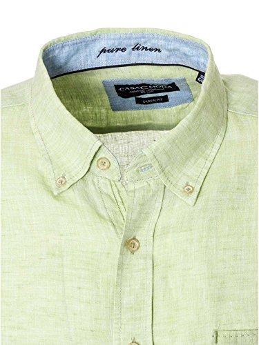 CASAMODA Herren Businesshemd 441925000 Casual Fit bügelleicht Grün