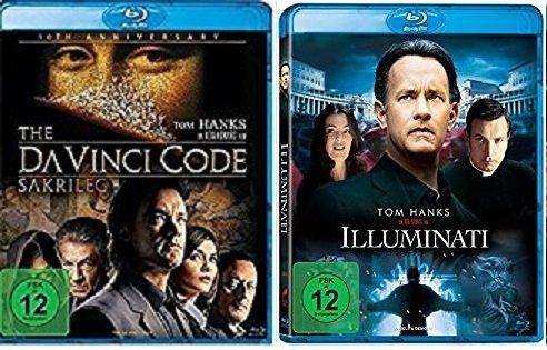 Dan Brown Set - Illuminati & The Da Vinci Code - Sakrileg [Blu-ray] im Set - Deutsche Originalware [2 Blu-rays]