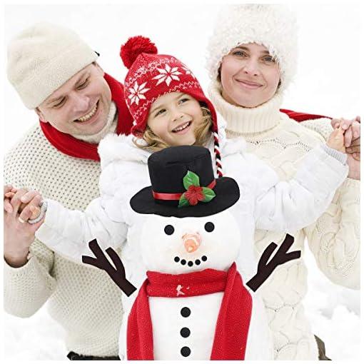 TOYMYTOY-Schneemann-Machen-Schneemann-Dekorieren-15Pcs-Schneemann-Verzierung-Winterurlaub-Draussen-Spielzeug-Kinder-Weihnachts-Geschenk