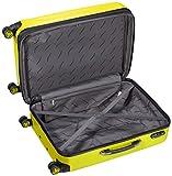 Packenger Premium Koffer 2er-Set Velvet, M/XL, Lemon-Gelb - 5