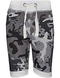 Junior Boys Branded Slazenger Mesh Lined 3//4 Track Pants Bottoms Size Age 7-13