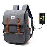 Business Laptop Backpack With USB Charging Port, iCasso - Best Reviews Guide