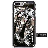 ZLBLKSE Coque iPhone 7 Plus Case,Coque iPhone 8 Plus Case AQG HJKHP Tempered Glass...