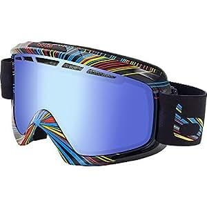 Bolle 21125 Nova II Ski Google, Shiny Black Burst by Bolle Serengeti Eyewear