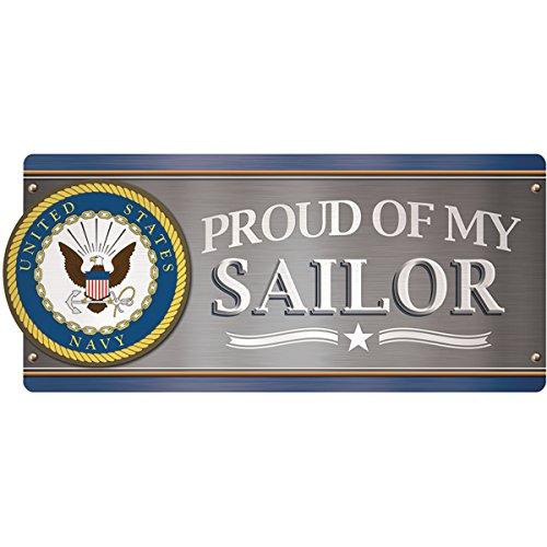 Papier Haus Magnet Auto magnet-u.s. navy-proud of my Sailor