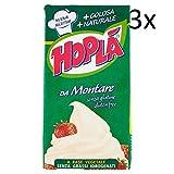 3x Hoplà Panna da montare glutenfrei Schlagsahne Sahne zum Nachtisch 500ml