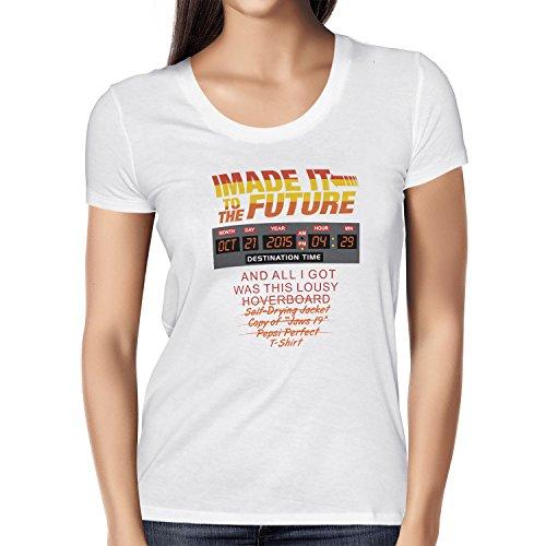 NERDO-I-made-it-to-the-Future-Damen-T-Shirt