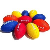 Mini Balones Deportivos para Niños Favor de Fiesta Juguete de Rugby Apretón de Juguete para el