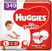 Huggies Dry Pants, Large Size Diapers, 21 count