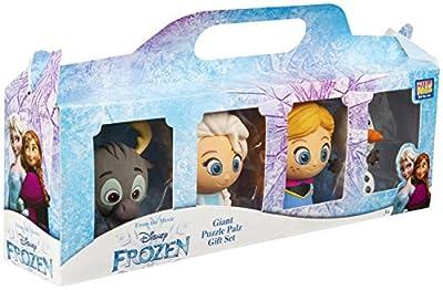 Disney Frozen Elsa, Anna, Olaf y Sven, Juego de Figuras Coleccionables, Set de Figuras Frozen Collection 4 Minis Personajes el Reino del Hielo 2, Juguetes De Colección Regalos niños 3-12 por Sambro