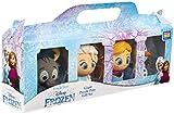 Disney Frozen Elsa, Anna, Olaf y Sven, Juego de Figuras Coleccionables, Set de Figuras Frozen Collection 4 Minis Personajes el Reino del Hielo 2, Juguetes De Colección Regalos niños 3-12