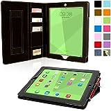 iPad 3 & 4 Exekutive Hülle (Schwarz), SnuggTM - Smart Case mit lebenslanger Garantie + Sleep / Wake Funktion