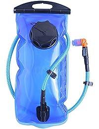 Ciclismo hidratación Cutowin Bolsa de Agua para Camping Mochila táctica 1 l/1,5 l/2 l/3 l Camelback Bolsa para Botella de Agua al Aire Libre Senderismo