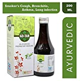 SHERWELL BIOTECH GOTAR Ayurvedic Medicine for Smoker's Cough, Bronchitis, Asthma, Lung infection
