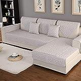 YLCJ 1 Stück Dreisitzer-Sofabezug für Kinder mit Halbinsel Geeignet für L-förmiges Sofa Wendbarer Sofabezug aus rutschfestem, bedrucktem Baumwollsofabezug. Pro Stück erhältlich