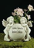 Grabengelpaar 'Liebe braucht keine Worte'