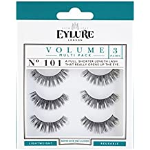 Eylure Strip Lashes No.101 (Volume) Multipack Pk Of 3 by Eylure