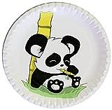 autooptimierer.de Anniversaires d'Enfants Fête Lot Panda stable Assiettes en carton rond assiettes jetables 23cm PARTY Barbecue Lave-vaisselle Assiettes Anniversaire Décoration Fête