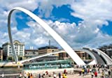 Scenic Fotos Gateshead Millennium Bridge Postkarte