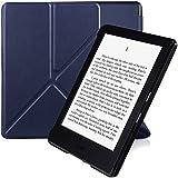 Amazon Kindle Funda, Nouske Origami protectora para Nuevo E-reader Kindle(8ª generación - modelo de 2016 , 6'', 15,2 cm), color Azul Tinta(宝蓝)