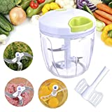 Manual Food Chopper - Multifunction Vegetable Choppers, 5 Review and Comparison