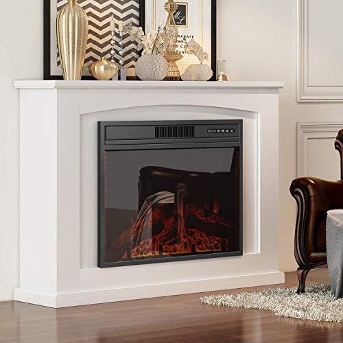 2000W diseño moderno Chimenea eléctrica Suite 2 Calor ajustes del termostato Pantalla...