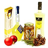 Panier cadeau italienne: Limoncello Sorrento - Cream - Babà - Torrone