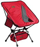 Trekology Portable Camping Chairs with Adjustable Height - Compact Ultralight Folding Backpacking Chair