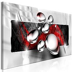 Idea Regalo - murando Quadro 3D Effetto 120x40 cm Stampa su Tela in TNT XXL Immagini Moderni Murale Fotografia Grafica Decorazione da Parete 1 Parte Astratto a-A-0354-b-b